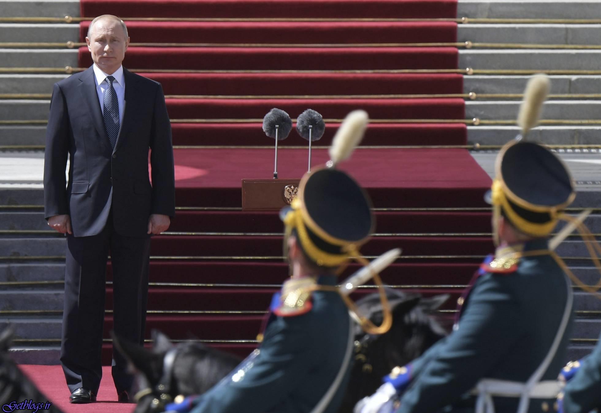 مراسم باشکوه روسها در چهارمین تحلیف پوتین