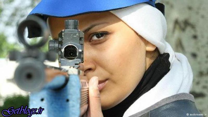 زن تیرانداز ایرانی رکورد دنیا را شکست