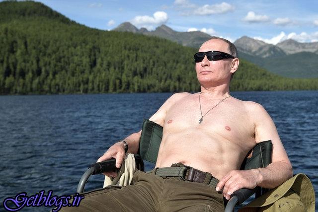 عکس + توضیح پوتین راجع به انتشار عکسهای بدون لباسش!