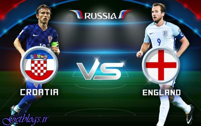 ترکیب انگلیس و کرواسی اعلام شد