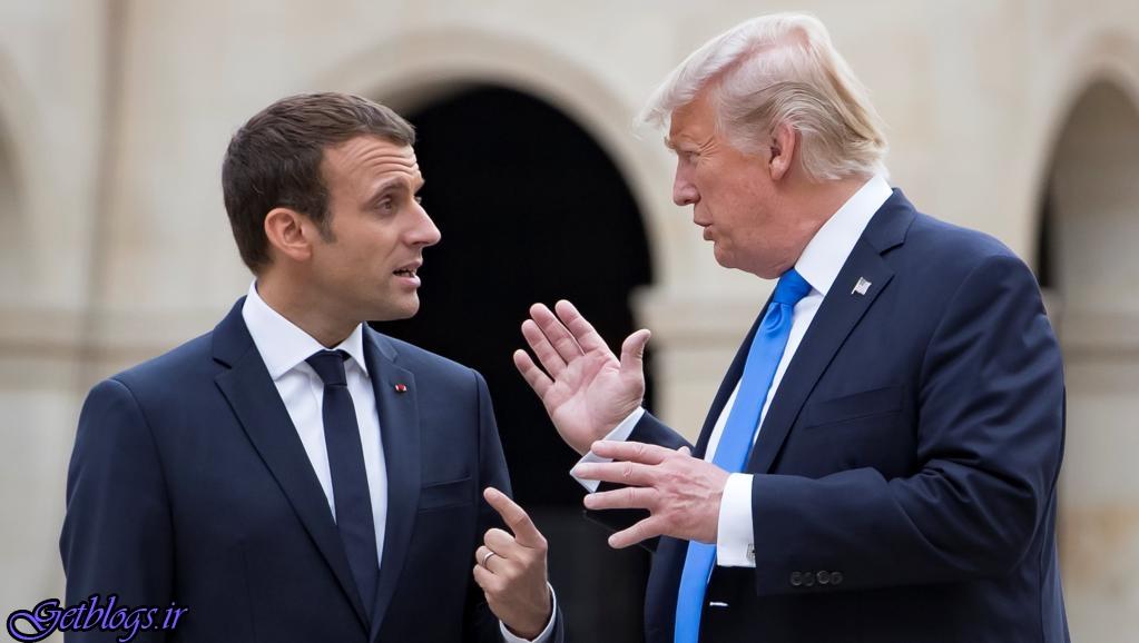 ترامپ از ماکرون خواسته از اتحادیه اروپا خارج شود / واشنگتنپست