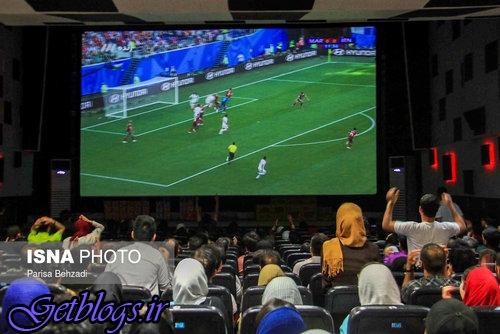 تماشای بازی کشور عزیزمان ایران و مراکش - سراسر کشور
