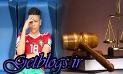 ماه تا 5 سال حبس در انتظار ستاره مراکش در دیدار با ایران!