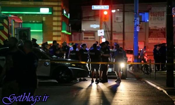 ۱ کشته و ۱۳ زخمی در جریان تیراندازی در تورنتو