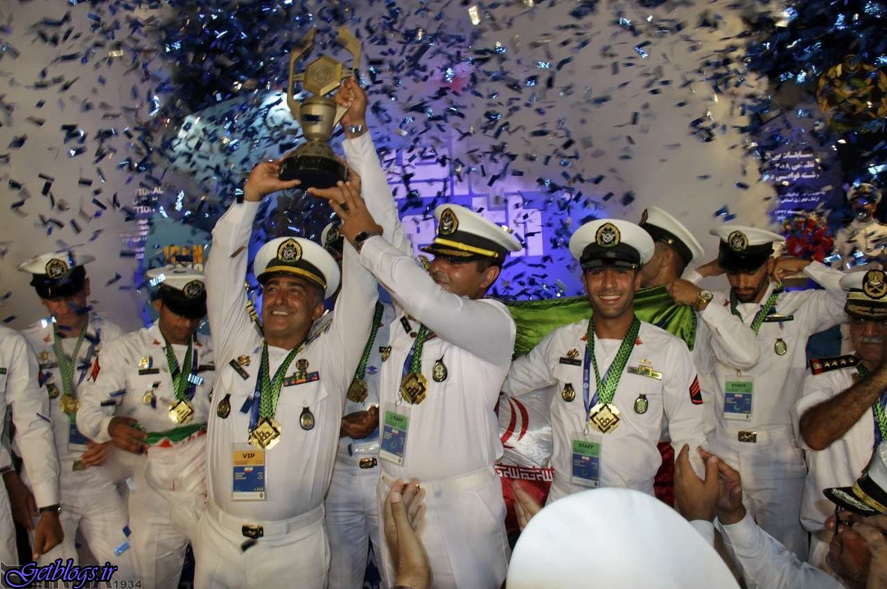 غواصان ارتش کشور عزیزمان ایران در مسابقه های نظامیان روسیه اول شدند