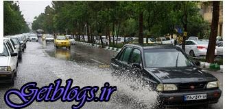 کم کردن کیفیت هوا در بعضی مناطق ، بارشهای شدید جهت چند استان طی امروز و فردا
