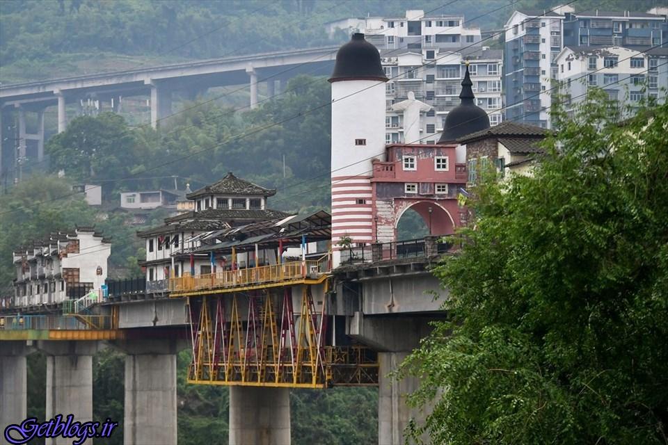 تصاویر) + عجیب ترین پل دنیا در چین (