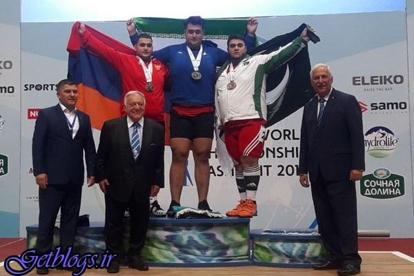 ۲ طلا و یک نقره فوقسنگین به داوودی رسید ، ایران قهرمان دنیا شد
