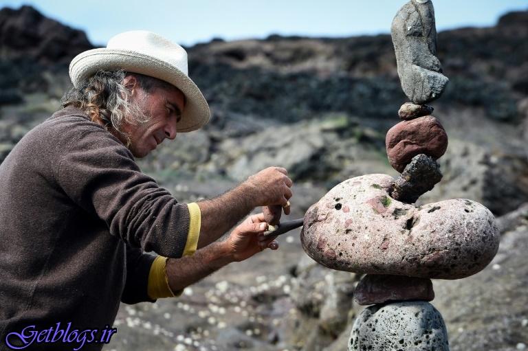تصاویر) + مسابقه جهانی سنگها در سواحل اسکاتلند (