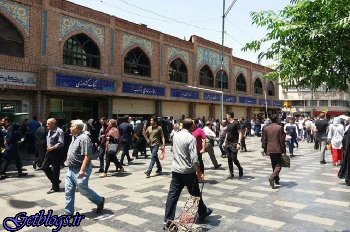 نظم و امنیت در بازار پایتخت کشور عزیزمان ایران حاکم است/ آشوبگران از صنف بازاریان نیستند ، پلیس پایتخت