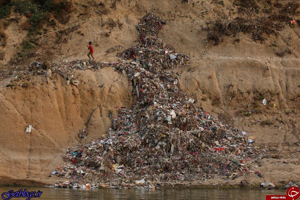 عکس ، آلوده ترین روخانه جهان