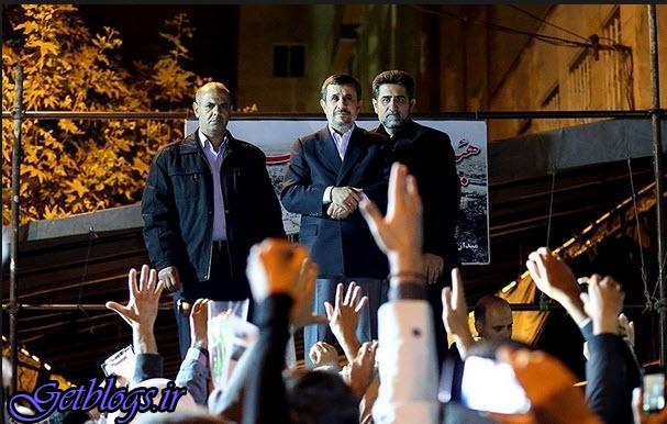 دورهمی احمدینژاد در میدان ۷۲