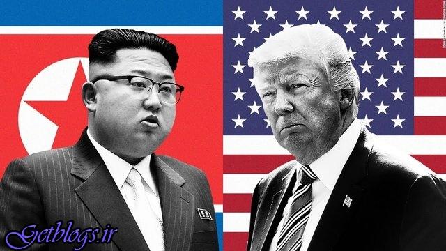 در منطقه غیرنظامی شده است بین دو کره با کیم دیدار نمیکنم / ترامپ