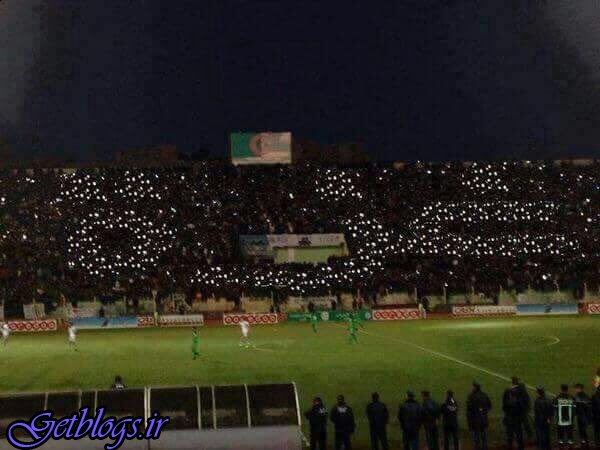 تصویر ، حمایت متفاوت هواداران فوتبال از غزه