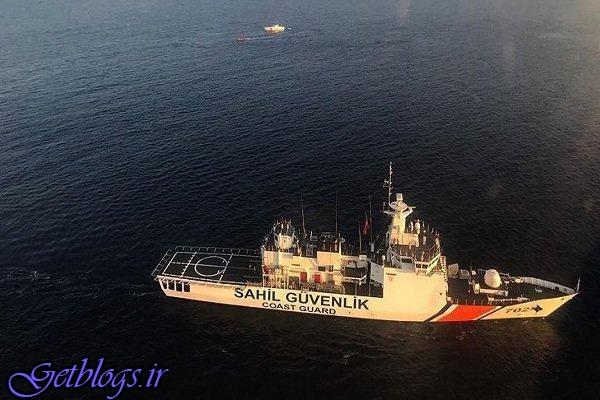 ۹ کشته و ۱ مفقودی ، غرق شدن یک قایق در سواحل ترکیه