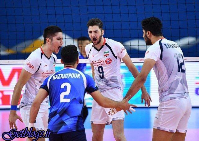 تیم ملی والیبال جوانان کشور عزیزمان ایران با شکست تایلند فینالیست شد و سهمیه جهانی گرفت