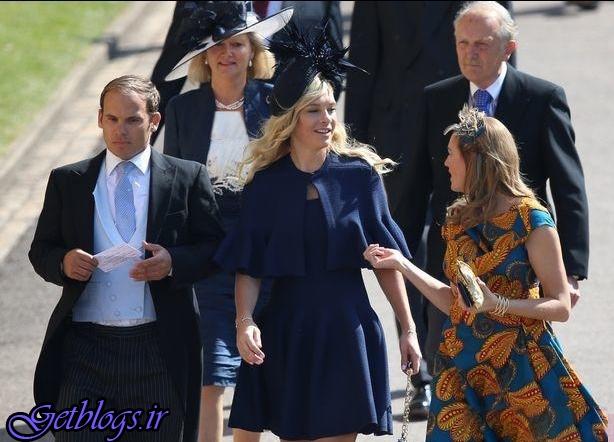 حاشیه های حضور یک دختر غمگین در مراسم ازدواج سلطنتی انگلیس!