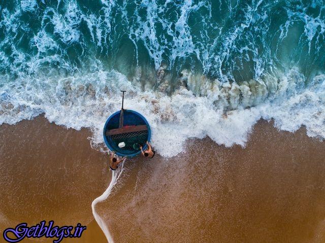 عکس ، قایق جالب ماهیگیران ویتنامی