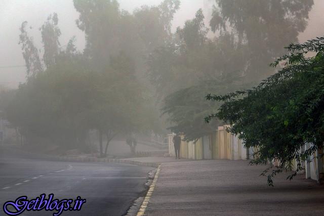 رگبار و تند باد در راه پایتخت کشور عزیزمان ایران