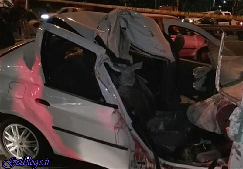 تصادف شدید در غرب استان گیلان ۴ کشته برجای گذاشت
