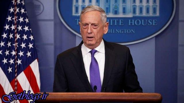 اقدام نظامی علیه سوریه را رد نمیکنم / ماتیس