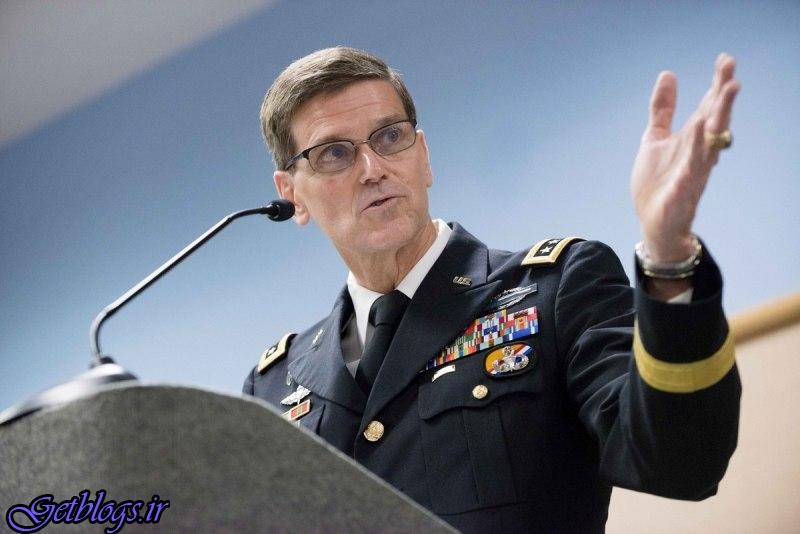 تصویر العمل فرمانده ستاد مرکزی ارتش آمریکا به رزمایش سپاه