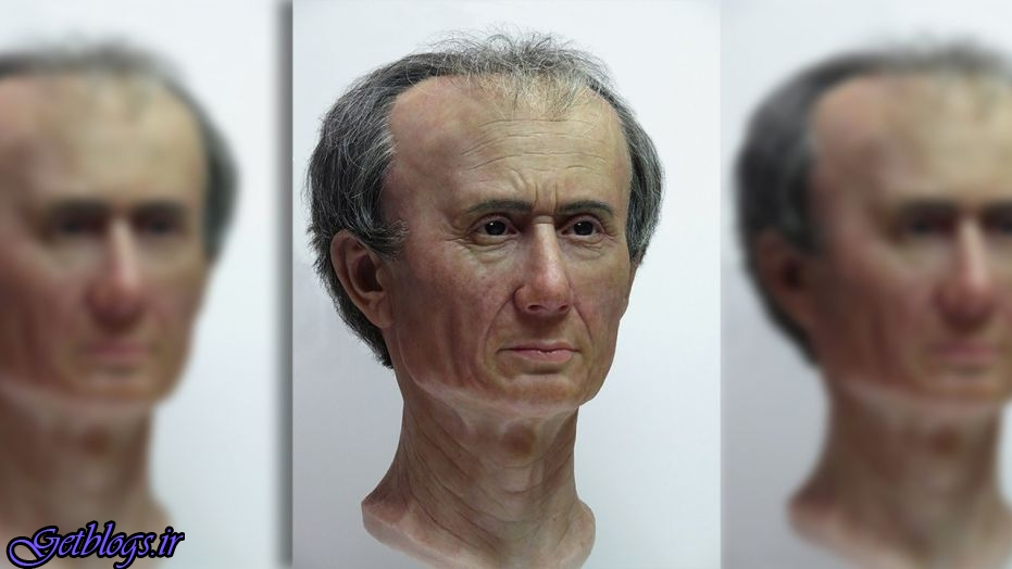 تصویر ، بازسازی صورت ژولیوس سزار با فناوری سه بعدی