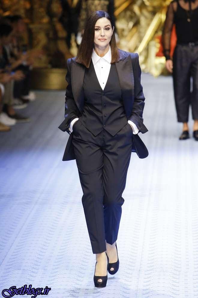 «مونیکا بلوچی» به عرصه مدلینگ بازگشت