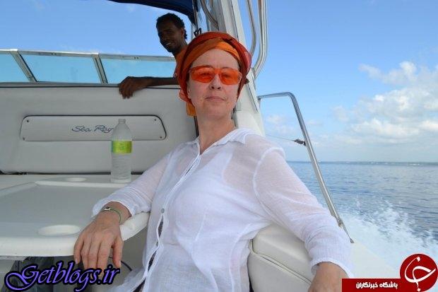 عکس ، نجات معجزه آسای زن توریست بعد از ۲۱ ساعت شناور بودن در دریا!
