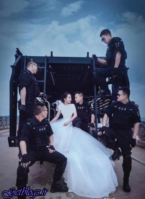 غافلگیری پلیس چینی با ایده ی خلاقانه نامزدش!