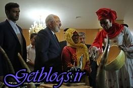 تصاویر) + پوشش جالب مهمانان آفریقایی در دیدار با ظریف (