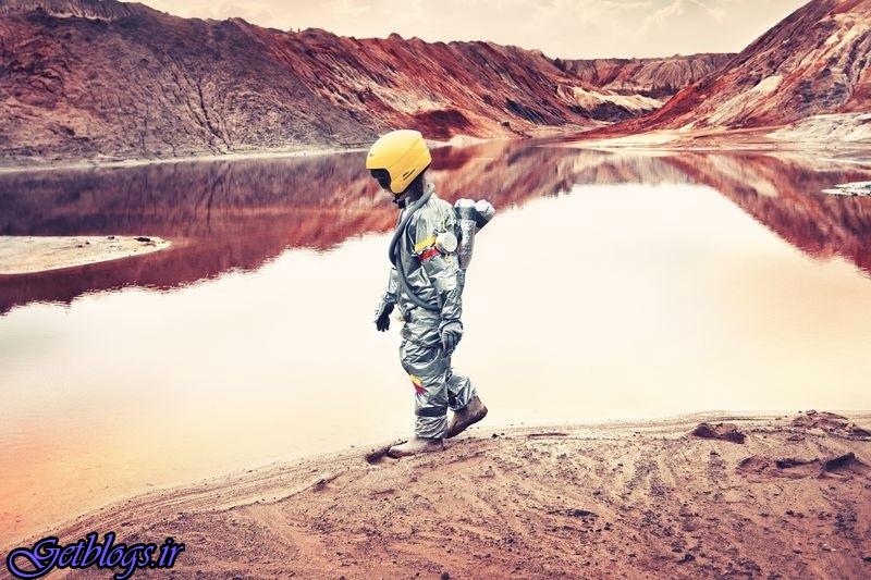 عکس ، پیادهروی دختر روسی در معدن متروکه در تصویر روز نشنال جئوگرافیک